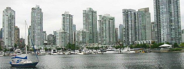 High density in north False Creek