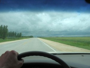The long, straight road to Gimli