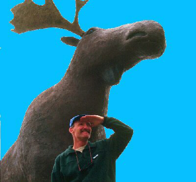 """'Seen any moose?' Not one on the whole trip!"""""""
