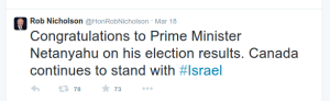 tweet RobNicholson Israel